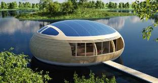 WaterNest, la casa galleggiante made in Italy totalmente ecosostenibile