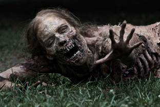 'The Walking Dead', serie televisiva che evoca un'umanit� cannibale