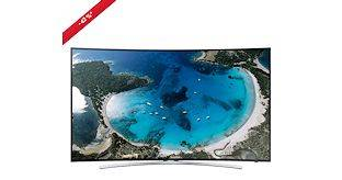 Smart TV LED Curvo UE48H8000 Televisore Full HD 3D 1000Hz