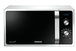 Samsung Microonde MG23F301ECW, capacit� 23LT, grill, 41 ricette preimpostate
