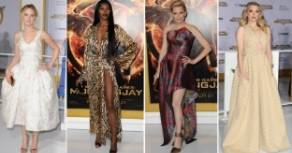 Alla prima del nuovo Hunger Games il red carpet � tutto un disastro