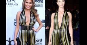 Chrissy Teigen Rosie Huntington-Whiteley: chi lo indossa meglio?