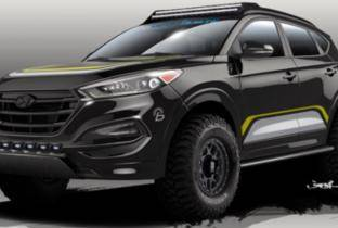 Hyundai Tucson Adventuremobile: l'off-road con la tenda sul tetto