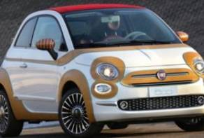 Una Fiat 500C per il 'Robert F. Kennedy Human Rights Europe'