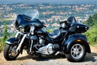 "Harley-Davidson Tri Glide Ultra: il tre ruote ""born in the USA"""