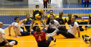 Il Brasile vince il 1� International Rotary Sitting Volley Cup