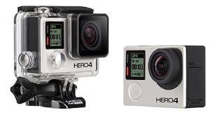 GoPro lancia HERO4 - La pi� potente camera in commercio
