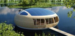 WaterNest, la casa galleggiante ecosostenibile made in Italy