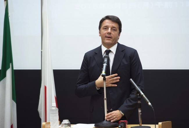 "Renzi in Giappone: ""Basta piagnistei, l'Italia � ripartita"" - Video"