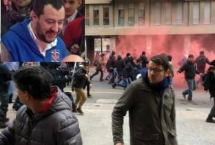 Immigrati, gay e scontri: la giornata cagliaritana di Salvini - Video